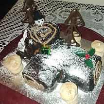 Celebrations - Buche de Noel - Christmas Yul Log